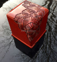Carving lacquer box