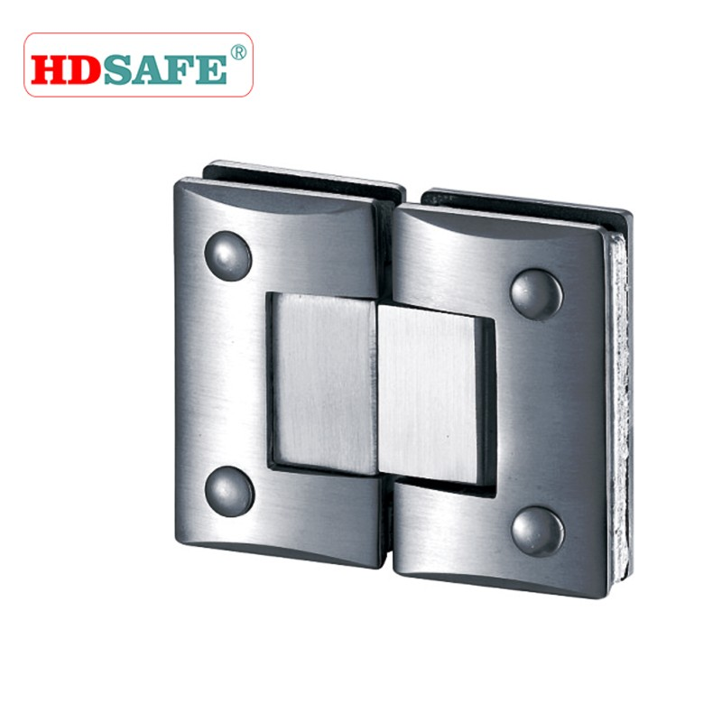 90 Degree Double Sides Stainless Steel Shower Hinge