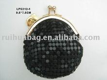 Black cute coin purse