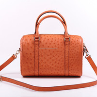 New Popular Genuine Ostrich Leather Handbags