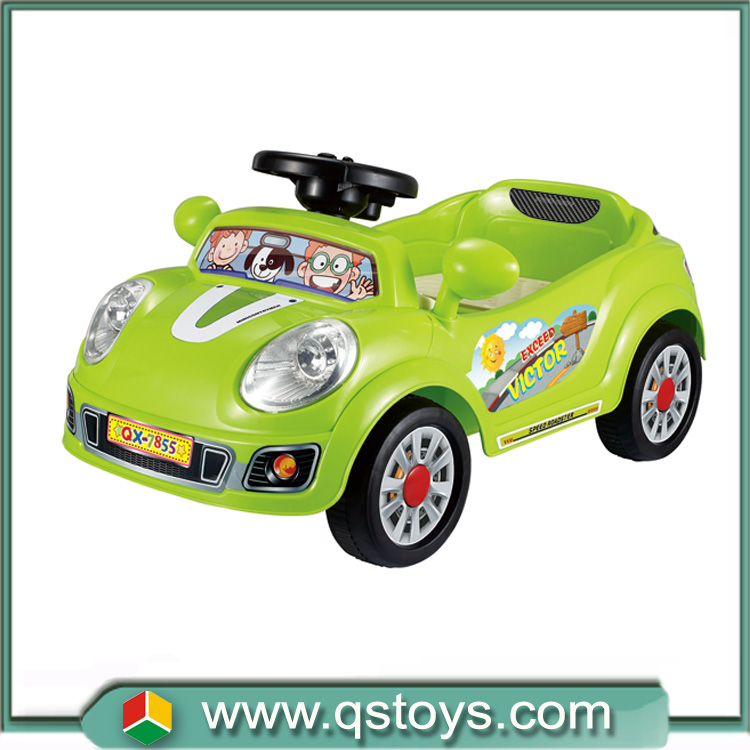 Wholesale electric ride on car with 2.4G remote control universal wheel toy