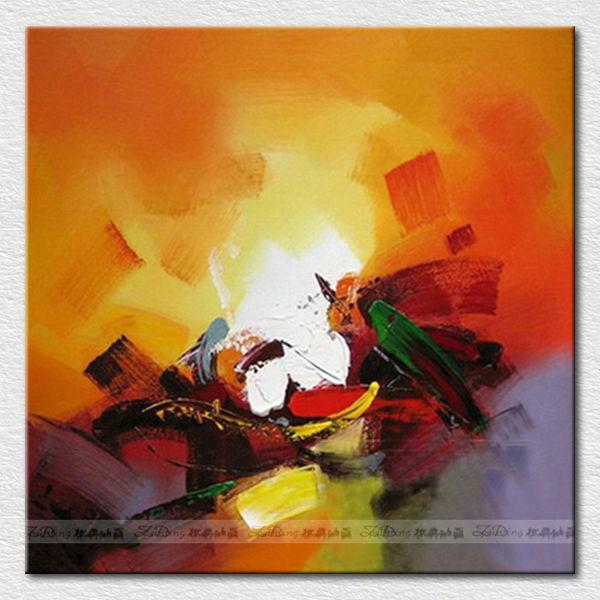 Wall art image de peinture l 39 huile abstraite pour h tel chambre peintur - Peinture a l huile abstraite ...