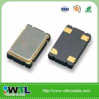 WTL piezoelectric 7.0*5.0mm crystal oscillator /OSC/CMOS output 25.000MHz 3.3V +/-20ppm -20+70C'