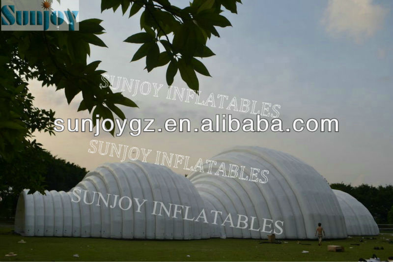 Outdoor Marquee Exhibition Hall Inflatable Massive Tent large stand,Sunjoy Inflatables
