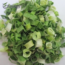 Natural organic freezing vegetables dried greens minced onion