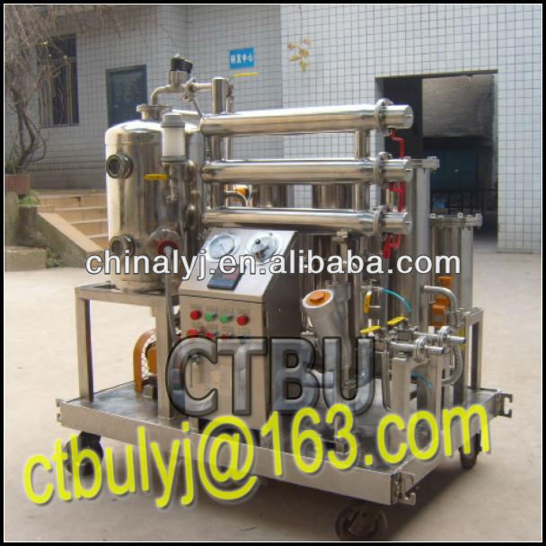 Stainless steel Fire-resistant oil filtration machine