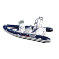 Safety speed luxury floor incredible price fiberglass hull rib boat