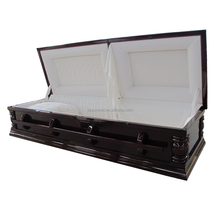 Best cheap Chinese wholesale genuine cherry wood cheap casket for sale