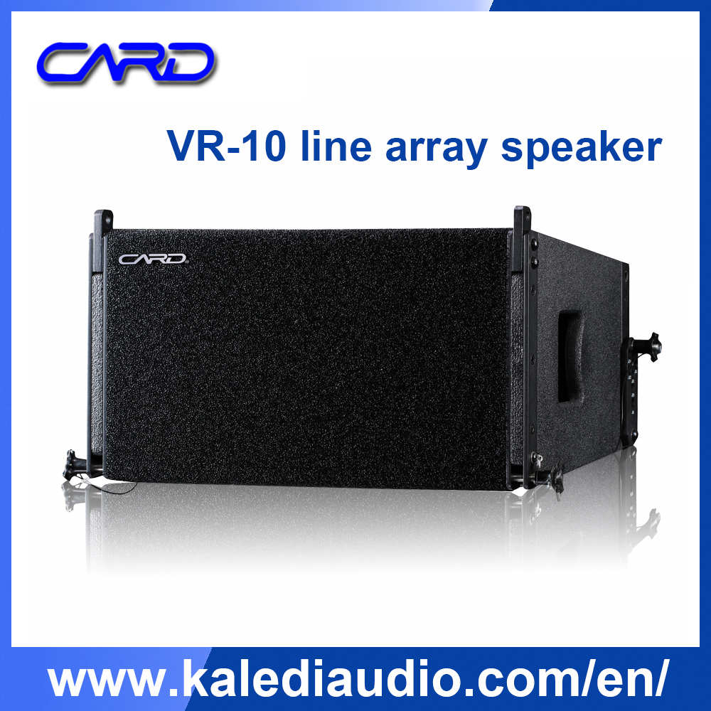 Professional pa line array loudspeaker 2-way outdoor sound system