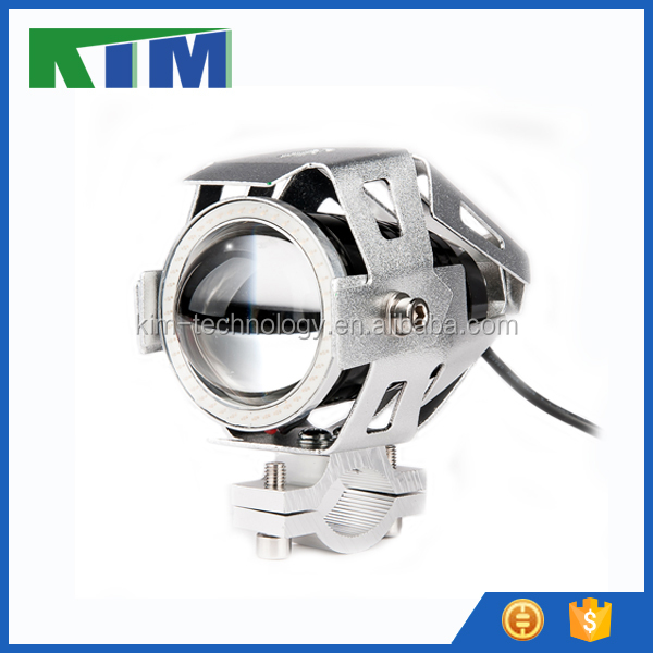 KIM carlights super bright car off-road U7 motorcycle LED headlight fog lamp daytime running lights DRL spot riving lights