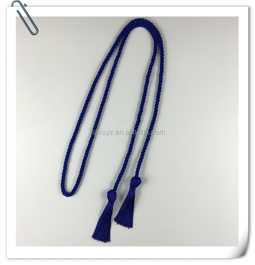 2017 honor cord ,graduation tassel cords for cap