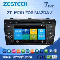 Built in car dvd gps for mazda 3 2004-2007 car radio with rds/swc/dvr/bluetooth/phonebook/usb
