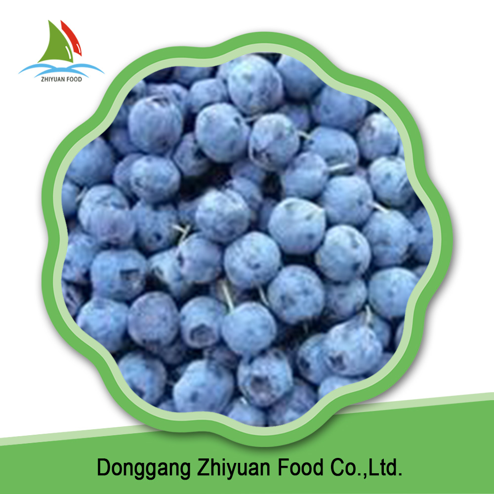 Blueberry Type and IQF Freezing Process frozen blueberry