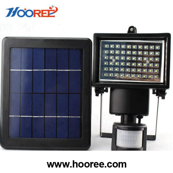 solar motion sensor light High lumen / solar flood light / Waterproof Yard Garden Lamp Energy Savin / Solar Powered light sl-60