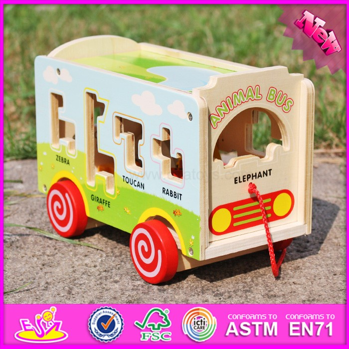 2016 new fashion kids wooden toy manufacturers W05B156-S