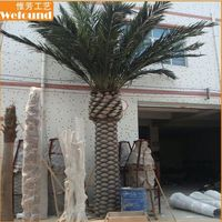 WEFOUND Fake Plants And Trees date palm trees for sale