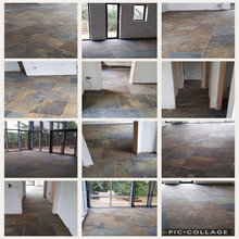 Precut gray flooring black slate,chinese roof slate tile price