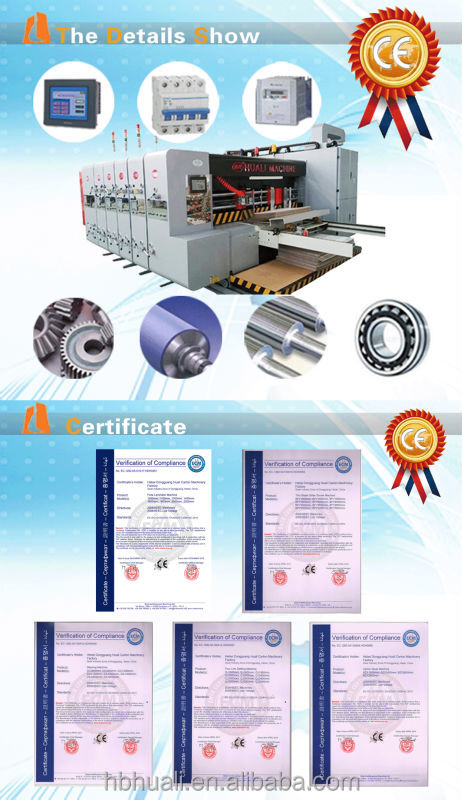 Chain Feeder rotary die cutting machine for corrugated paperboard making