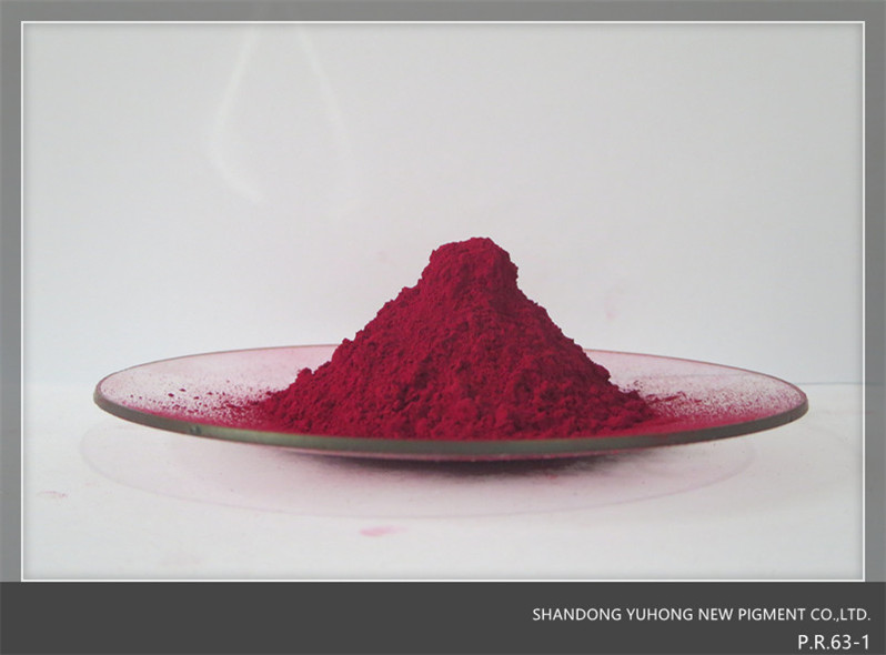 Main use for paint.Pigment red 63:1.P.R.63:1Cas:6417-83-0