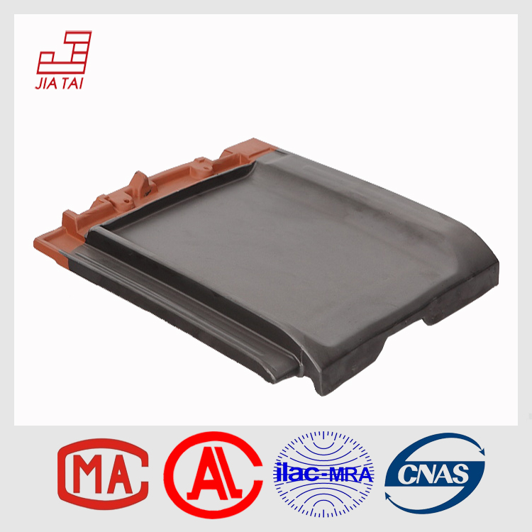 high quality best plain clay roof tile with