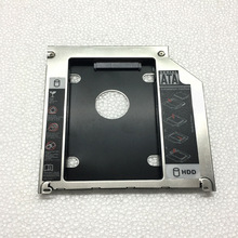 Ultra slim 2nd HDD caddy SATA to SATA 9.5mm for Laptop Series