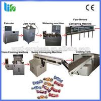 automatic super fine soft candy production line in stainless steel