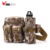 Outdoor camo waterproof waist bag travel pouch bottle holder military mens fanny pack