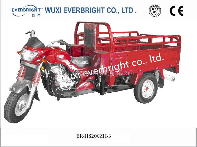 New three wheel trike/petrol cargo motorcycle made in china