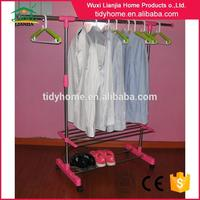 Professional semi circle garment rack with CE certificate