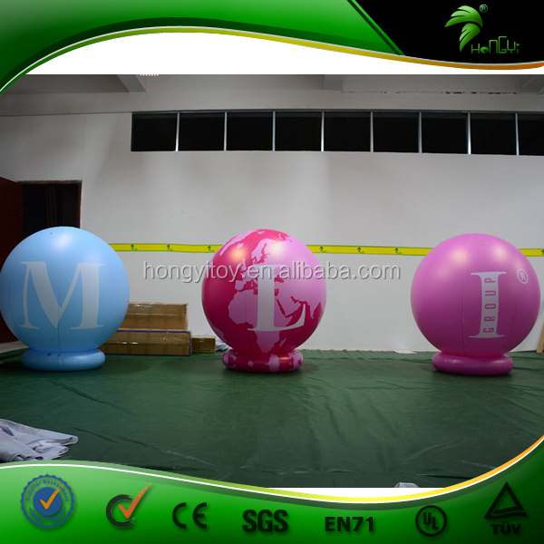 Balloon Type Advertising Inflatable Air Filled Balloon / Decoration Inflatable Cold Air Balloon