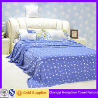 new 2016 king size waffle cotton blanket for hotel