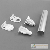 Factory Direct 17 25 28 32 38 45 50mm Window Roller Blind Components from China