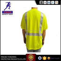 super cheap reflective safety t shirt for promotion