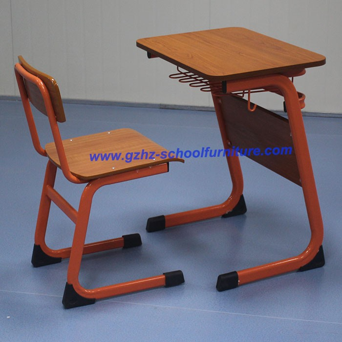 Made in China Plywood Children Study Furniture Desk and Chairs for Kerala