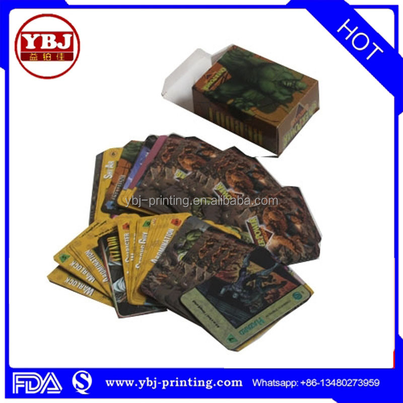 Competitive price customized top level game play card