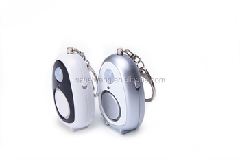 Keyring Anti Theft Personal Alarm 130db For Ladies