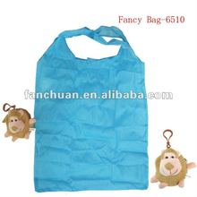 fashion monkey shaped foldable bag