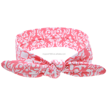 HAOXIE Fashion Decorative pattern girl headband for wholesale/hair elastic band/Girls' Hair Decoration