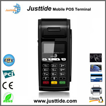 Justtide Factory Price 2G/WiFi/58mm Printer Linux Portable POS Equipment