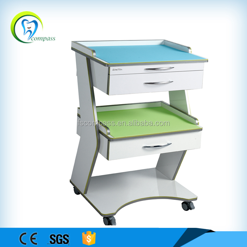 Foshan Compass Mobile Equipment Dental Cabinet for Dental Clinic