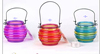 hot sale hand-painted hanging glass lantern