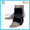 Black high quality low price warm thermal ankle sports socks padded