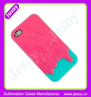 JESOY The Newest 3D Phone Case For iphone 4/5/5s , For iphone Silicone Phone Case