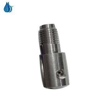 High quality three eye sprinkler head for waterjet cutting machine part