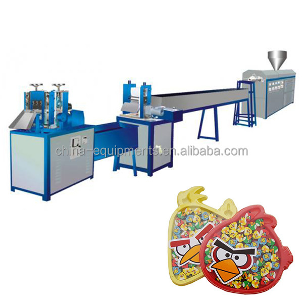 plastic gum machine