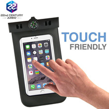 Mobile universal 2017 PVC pouch swimming waterproof phone bag for cell phone
