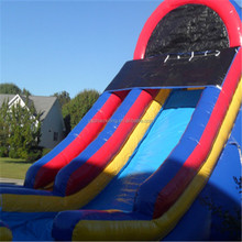 Backyard Pvc slide for sale blow up slide for kids small inflatable water slide