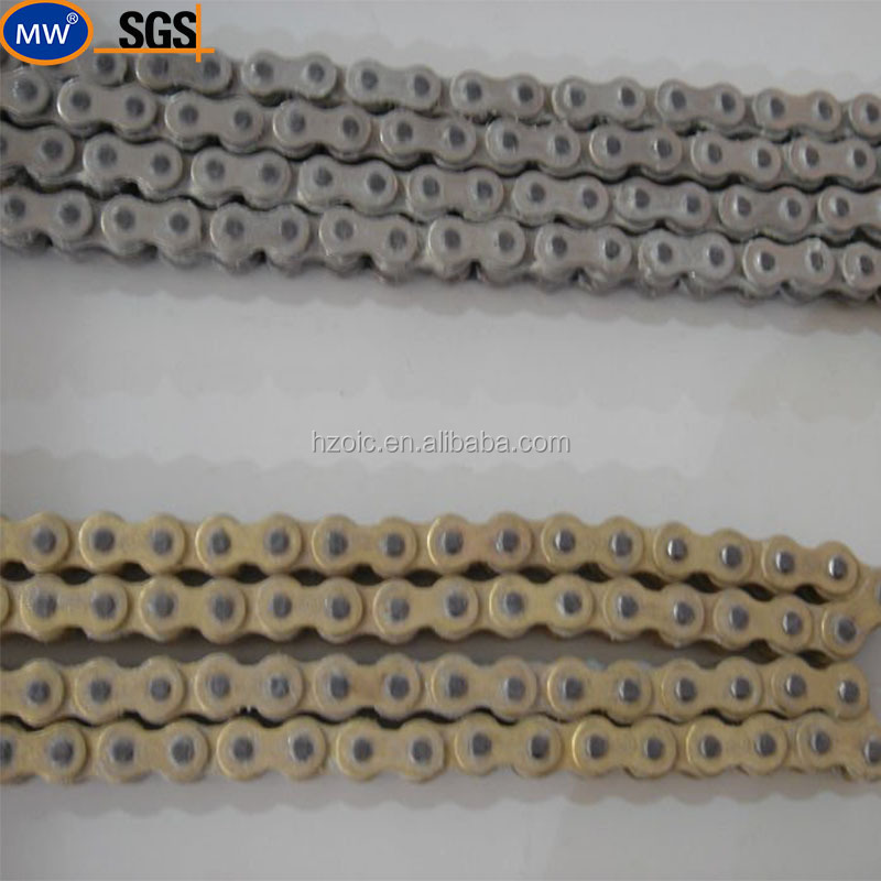 Good Quality Reliability Transmission Power Colored Motorcycle chain