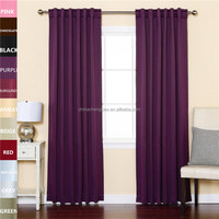 New home decor rod pocket top thick cold room air curtains