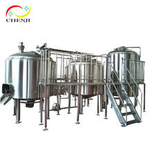 brewhouse vessel 200L brew kettle,mash/lauter tun whirlpool/boiling tanks